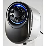 Bostitch Antimicrobial QuietSharp Glow Extra Heavy Duty Classroom Electric Pencil Sharpener with Replaceable Cutter Cartridge System, Silver/Black (EPS11HC)