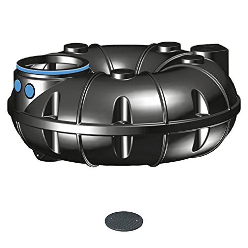 PREMIER TECH AQUA GmbH Zisterne 1500 Liter Regenwassertank NEO Basic inkl. Deckel TopCover - 35 Jahre Garantie - Kunststoff, Kunststoffzisterne, Komplettset