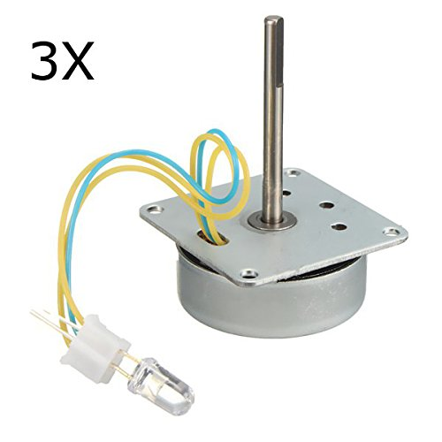Bluelover 3Pcs 3V-24V 12V Mini 3-Phasen-Generator Wind Turbines Hand Motor