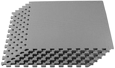 We Sell Mats 3 8 Inch Thick Multipurpose Exercise Floor Mat with EVA Foam Interlocking Tiles product image