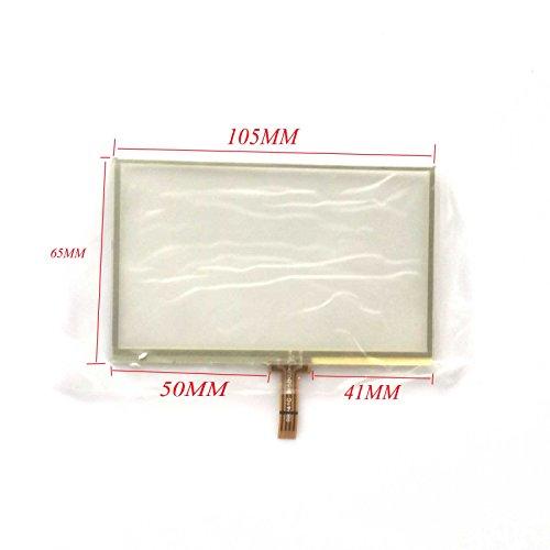 Transparente Color EUTOPING ® De Nuevo 4.3 Pulgadas Pantalla tactil Digital La sustitución de para Garmin Nuvi 1310 1310T GPS