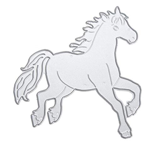 Lankater Cavallo Forma Fustelle Cartoon Modello di Cartella Album Foto Decorazioni Mestieri di DIY Scrapbooking Stencil Template