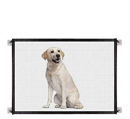 Easy Install Mesh pet Safety gate fits Spaces up to 6 feet Wide and Measures Approximately 72quotx30quot