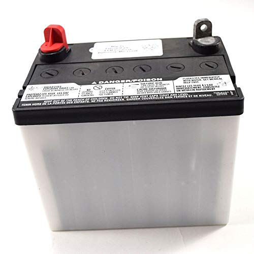 Husqvarna 532123899 Lawn Tractor Dry Battery Genuine Original Equipment Manufacturer (OEM) Part