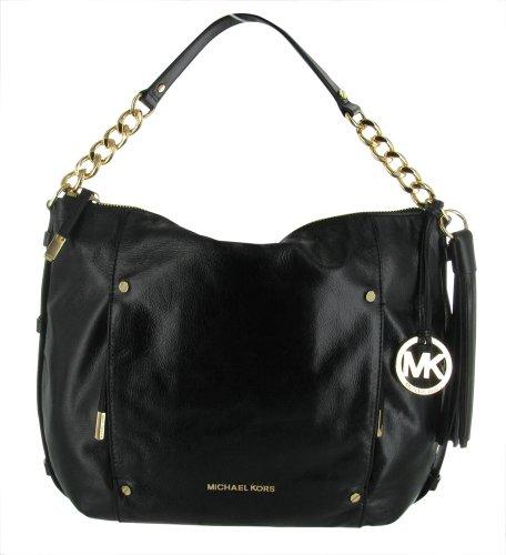 Hot Sale MICHAEL Michael Kors Large Devon Shoulder Bag, Black