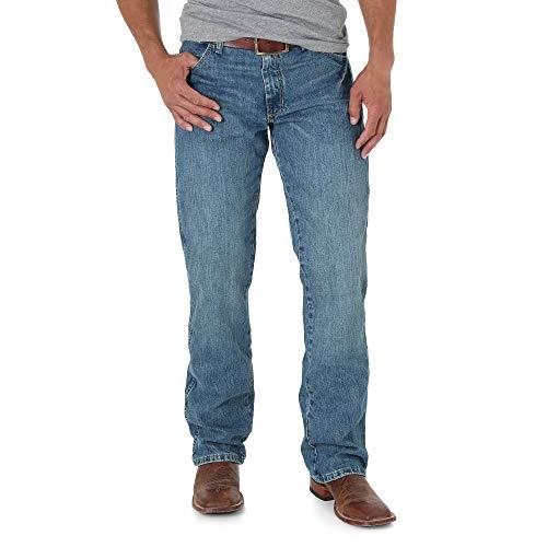 Wrangler Herren Retro Slim Fit Boot Cut Jeans - Blau - 34W / 32L