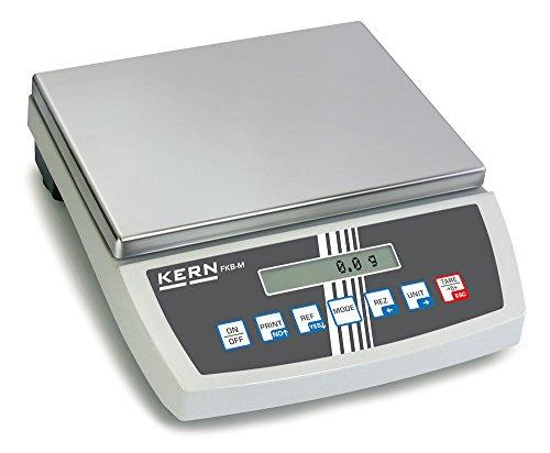W/ägebereich max Preisg/ünstiges Profimodell Kern CPB 15K2DM Zweibereichs-Z/ählwaage 6 kg // 15 kg Pr/äzision bis 2 g // 5 g