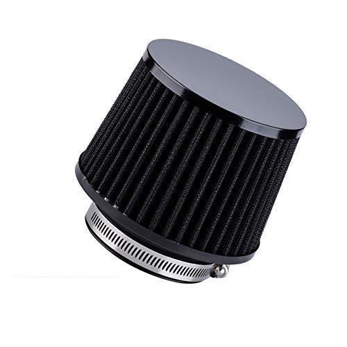 QREAEDZ Filtro de admisión de Aire de Coche 76 mm 70 mm 65mm Rendimiento Filtros de Alto Flujo para el Consumo de Aire frío 3 Pulgadas 2.75 Pulgadas 2.5 Pulgadas (Color : 65mm 2.5inch)