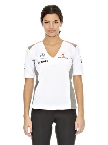 Vodafone McLaren T-Shirt Team, Weiß, XL