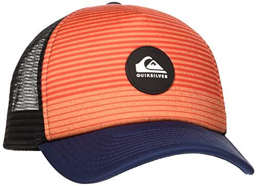 Quiksilver Tijuana- Gorra Trucker para Hombre Cap, Hombre, Majolica Blue, 1SZ