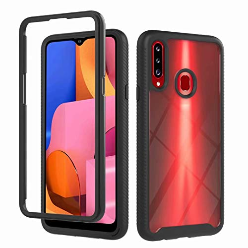 Case Compatible with Samsung Galaxy A12, Dual layer Crystal Clear Anti-Yellow Ultra Slim Soft TPU Silicone Shockproof, Anti-Scratch phone Case Cover for Samsung Galaxy A12 Clear