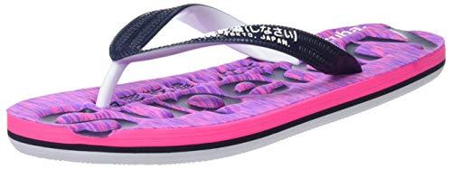 Superdry Damen Scuba Flip Flop Zehentrenner, Rosa (Pink/Purple Slub OK3), 36/37 EU