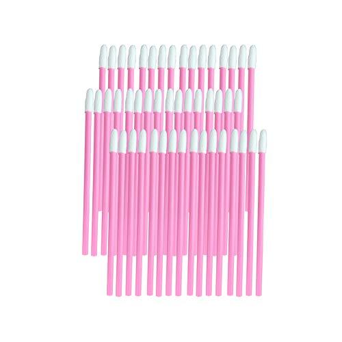 Pinceau jetable Marque Rouge à lèvres Lip Gloss Wands Applicateur outil de maquillage outil de beauté Kits Rose 10 Pack