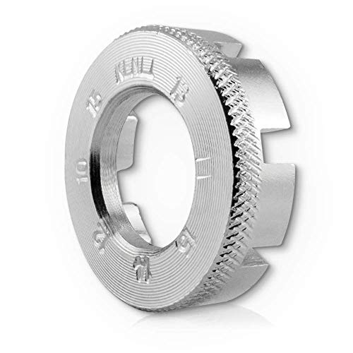 auto-Dress.de Fahrrad Speichenschlüssel Rad Zentrierer 8-Fach Teller Schlüssel für Speichen Größe 10-15 von Fahrrad bis Mofa in Werkstattqualität! Nippelspanner- Speichenspanner - Spanschlüssel.
