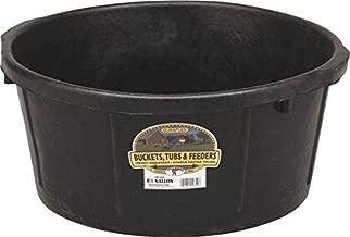 LITTLE GIANT Miller CO All Purpose Tub, 6.5 Gallon, Black