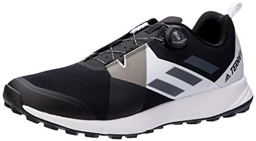 adidas Herren Terrex Two BOA Trekking- & Wanderhalbschuhe, Schwarz (Negbás/Gricua/Ftwbla 000), 44 EU
