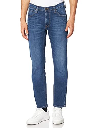Lee Daren Zip Fly Jeans, Pool Dark, 31W x 34L Homme