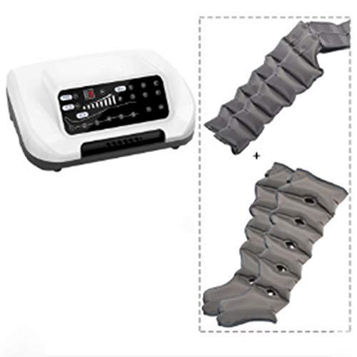 DYXT Masajeador de piernas por compresión de Aire para pies, piernas, Brazos, Alivia el Dolor Muscular, la Fatiga y el Dolor, relaja la circulación sanguínea