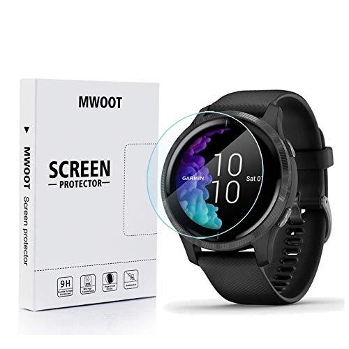 MWOOT Protector Pantalla Compatible con Reloj Garmin Venu GPS Smartwatch (6 Unidades),...