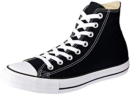 Converse Unisex Chuck Taylor All Star Hi Top Sneaker (7.5 B(M) US Women / 5.5 D(M) US Men, Black)