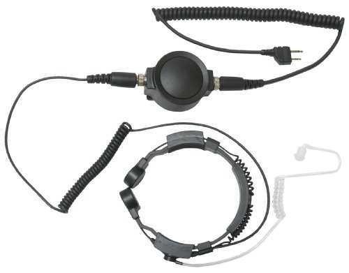 Midland TH4 Tactical Series Throat Mic with Acoustic Ear Tube