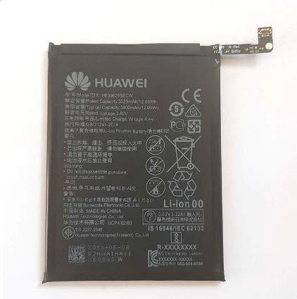 MLTrade - Bateria Original Huawei HB396285ECW para Huawei P20(EML-L29), 3320mAh, Embalaje Bulk con Bolsa Anti-estática