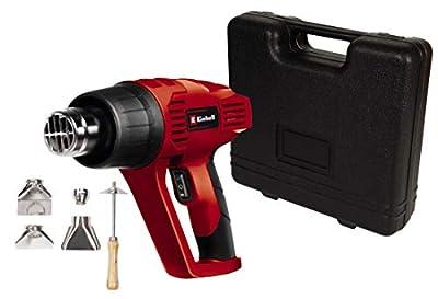 TEENO Pistola de Aire Caliente 2000W Temperatura Ajustable Decapadora con 8 accesorios