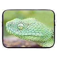 緑の木アフリカの毒蛇 パソコンバッグ ラップトップ収納カバン インナーバッグ PCケース ノートパソコンケース 360°保護ケース 13インチ 15インチ 衝撃吸収