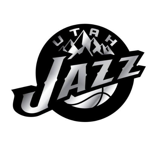 NBA Utah Jazz Chrome Automobile Emblem