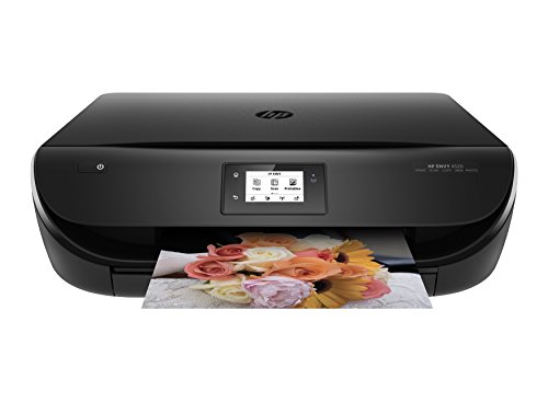 HP Envy 4520 Wireless All-in-One Photo Printer with Mobile Printing, Standard Ink Included, in Black (Renewed)