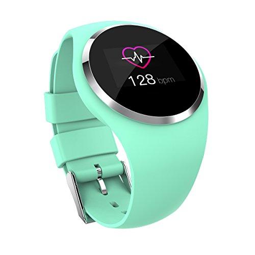 Fitnesstracker hartslagmeter waterdichte smart armband gezondheid sporthorloge armband calorie stappenteller slaapmonitor geschikt voor kinderen paren