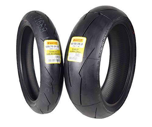 Pirelli Diablo Supercorsa V2 Front &/or Rear Street Sport Super bike Motorcycle Tires (1x Front 120/70ZR17 1x Rear 190/50ZR17) -  PSCV2-120-19050