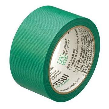 積水化学工業 建築養生テープ フィットライトテープ No.738 50mm×25m 緑 30巻