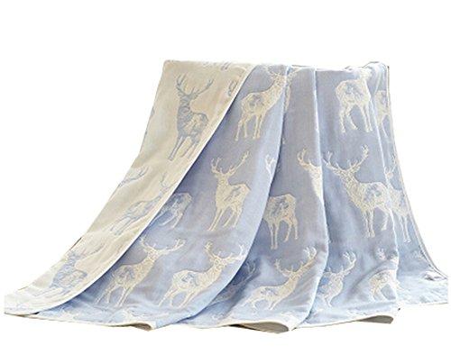 Cotton Gauze Newborns Single Towel Blanket Literie Serviette de Bain 35.43\