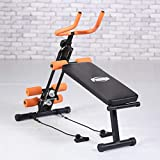 Complete Body Workout Exercise Machine, Core and Abdominal Trainer. Gym Quality Exercise at Home. Fitness Strength Training Equipment. Complete Home Gym Machine. Cardio and Strength Workout