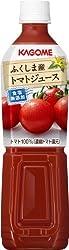 カゴメ ふくしま産トマトジュース食塩無添加 スマートPET 720ml×15本