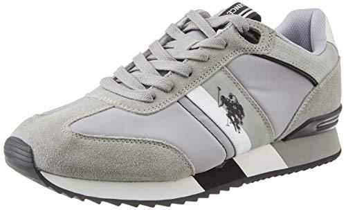 U.S. POLO ASSN. Austen, Sneaker Uomo, Grigio (Li Gr 015), 43 EU