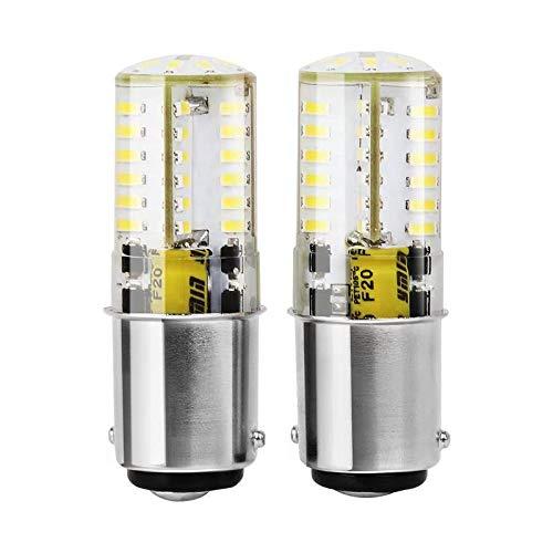 B15d 1142 Led Bombillas 12v 5W, 300Lm, Blanco Fresco 6000K Bulb Equivalentes HalóGenas De 30W, Para para la Iluminación Interior de RV Caravana, Remolque, Boat. (2 Piezas)