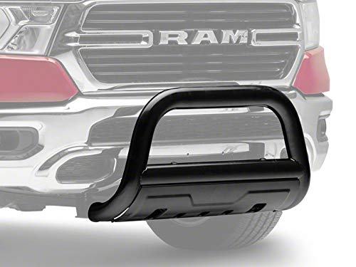 "Barricade Off Road 3.5"" with Oval Bull Bar in Black with Skid Plate for Dodge RAM 1500 2019-2020 Excluding Rebel"