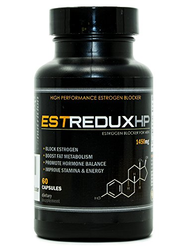 EstreduxHP Estrogen Blocker for Men | Aromatase Inhibitor, Anti Estrogen, and Testosterone Booster | Adaptogen Supplement for Men | VH Nutrition | 30 Day Supply