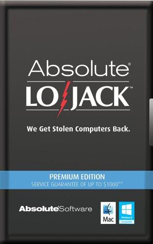 Computrace LoJack for Laptops Premium 2 Years [Online Code]