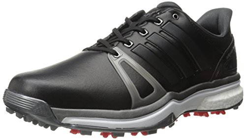 adidas Adipower Boost 2 - Zapatillas de Deporte para Hombre, Talla L, Color Negro, Rojo y marrón, Color Negro, Talla 41 EU