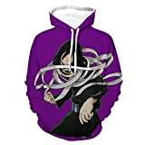 Photo de Eraser Head Class 1-A Homeroom Teacher Anime Hoodies Man My Hero Academia Sweatshirts For Womens Unisex Boku no Hero Academia Japanese Manga ACG Pullover Cotton Casual Funny Sweatshirts Purple,4XL par