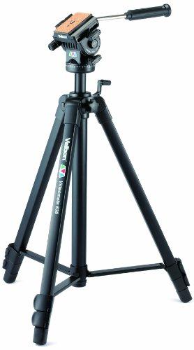 Velbon Videomate 638/F Aluminium Dreibein-Stativ inkl. PH-368 Kopf (Höhe 171 cm, Belastbarkeit 3 kg)