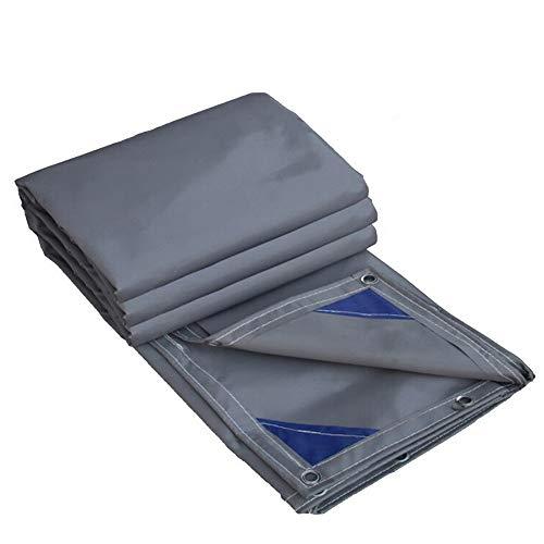 Bâche Robuste, imperméable épaisse, résistante aux Rayons UV, pourriture, déchirure et déchirure avec œillets et Bords renforcés, 600g/m² (Size : 3m×4m)