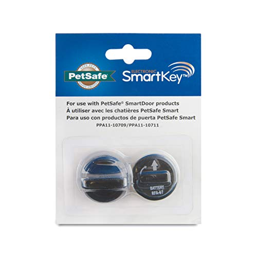 PetSafe Electronic SmartKey for SmartDoor - Dog and Cat Keys - Add More Pets - Fits Collar ID Tags