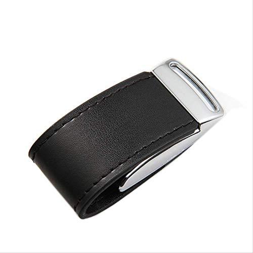 WHBLSKY - Funda de piel con disco USB de alta velocidad para coche (128 GB)