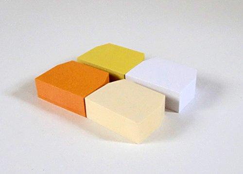 無印良品植林木ペーパーインデックス付箋紙4色・各100枚