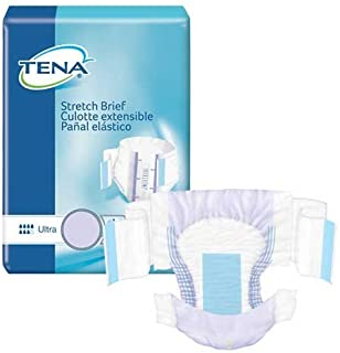 TENA Stretch Ultra Brief Med/Reg 72/Case by TENA