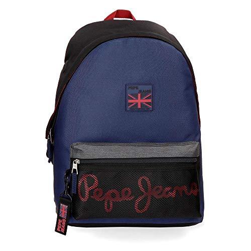 Pepe Jeans Hammer - Mochila, Multicolor, 42 cm